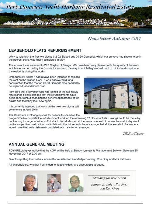 PDYHRE Newsletter Autumn 2017 v2