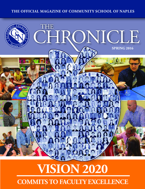 CHRONICLE SPRING 2016