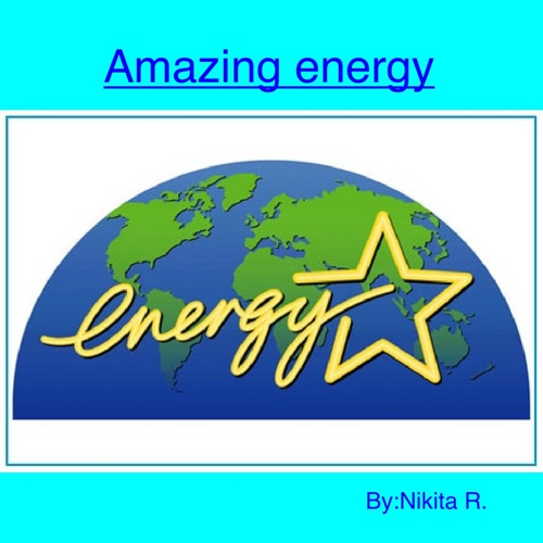 Waldrip different types of energy