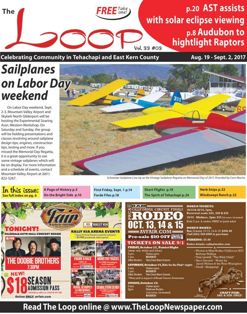 The Loop Newspaper - Vol 33 No 03 - Aug 19 to Sept 2, 2017