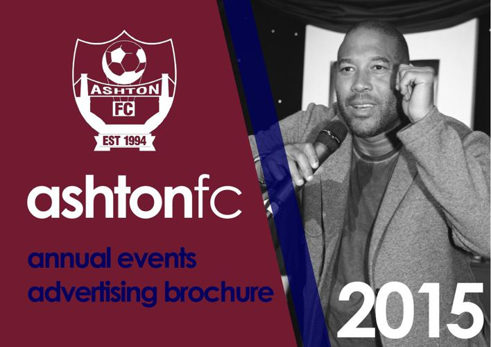Ashton FC events sponsorship brochure 2015