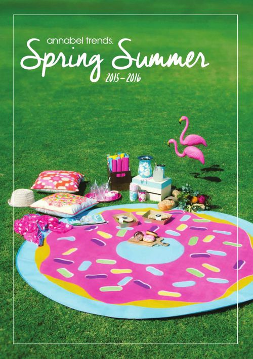 Spring Summer 2016 Catalogue - Annabel Trends