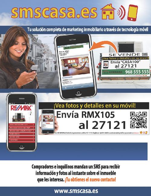 SMS Casa promoción por Remax