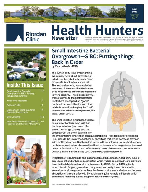 Health Hunters - April '15