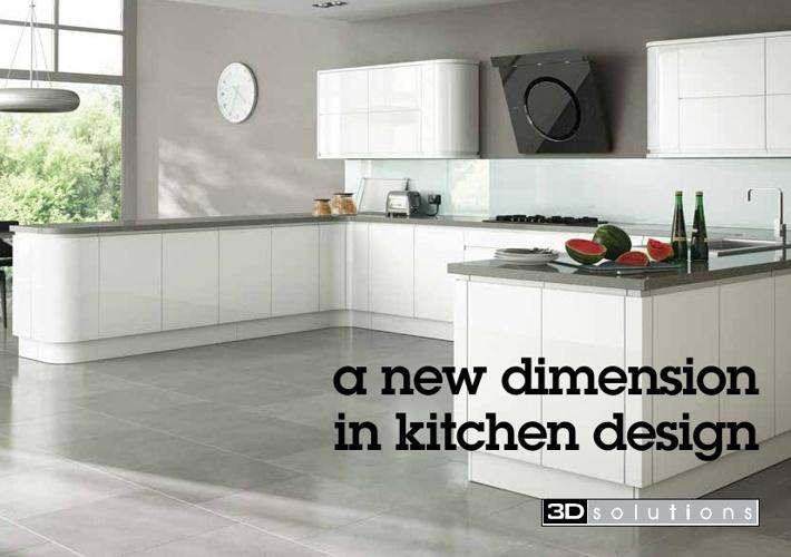 Kitchen Brochure A5 3D Solutions
