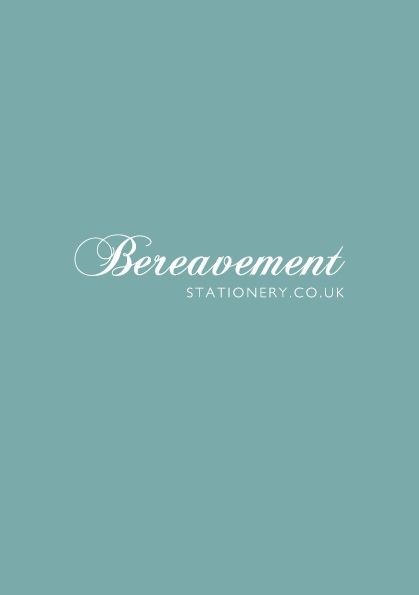 Copy of Bereavement Test
