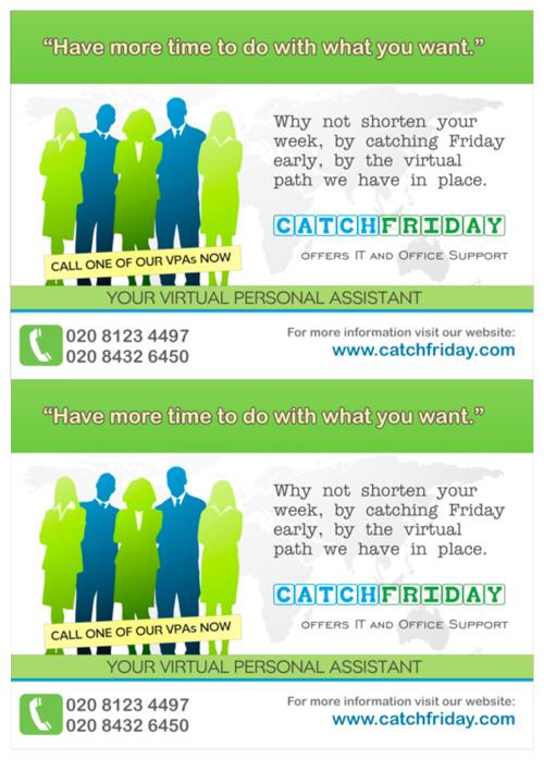 Catch Friday Arranges Virtual Assistants