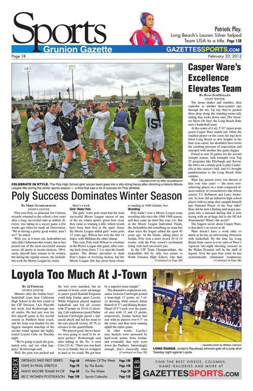 Gazette Sports | February 23, 2012
