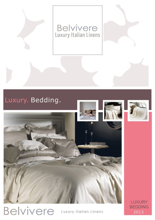 Belvivere Luxury Bedding 2013