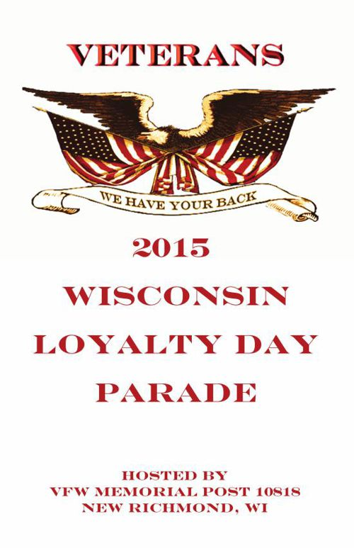 2015 WISCONSIN LOYALTY DAY BOOK