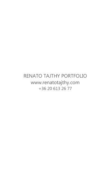 Renato Tajthy portfolio