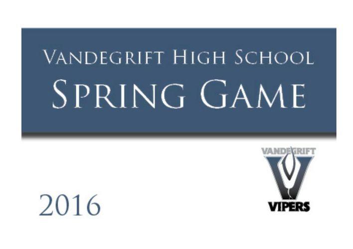 VHS 2016 Spring Game