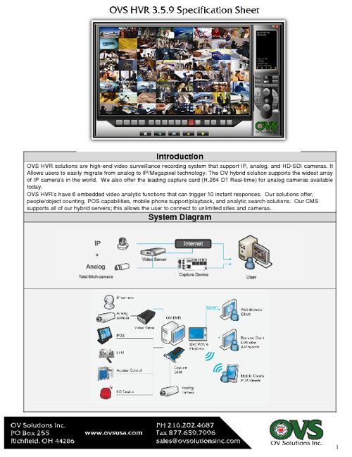 OVS HVR Spec 3.5.910.12v1.2