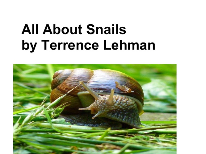 Terrence's snail book