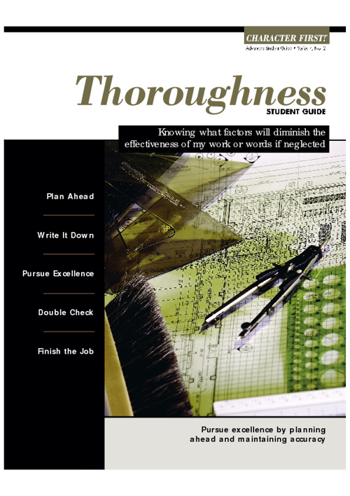 Thoroughness
