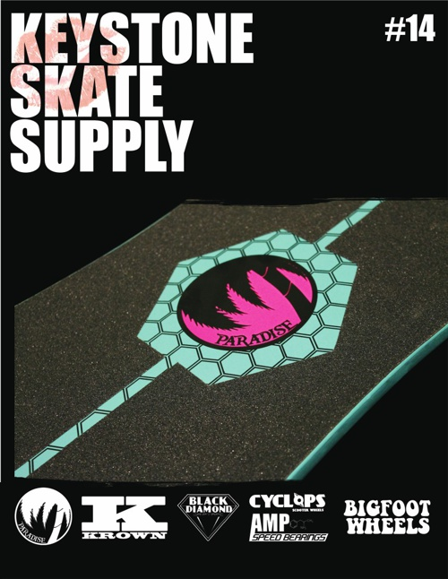 Keystone Skate Supply Catalog #14