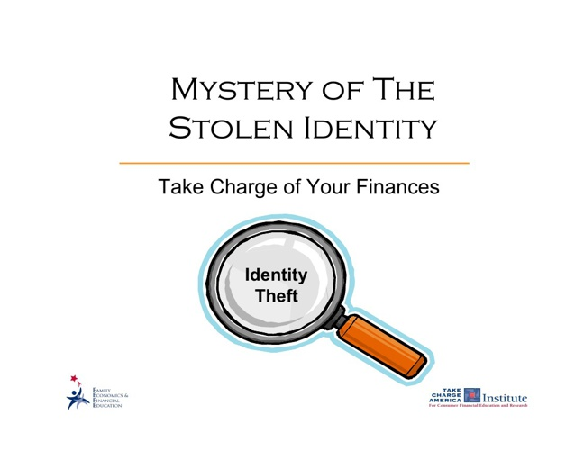 Identity Theft Notes
