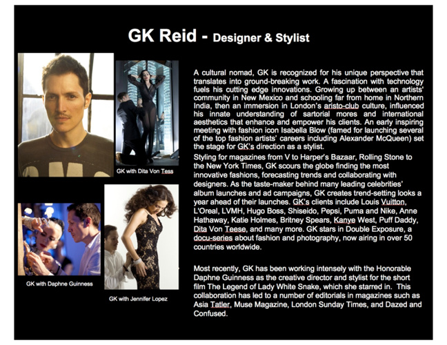 GK Reid - Flip Book