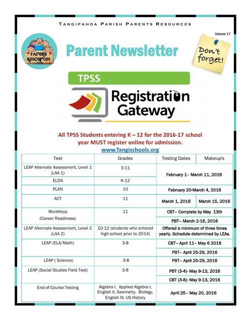 Parent Resources V17