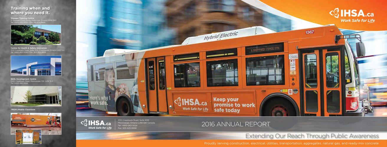 IHSA's 2016 Annual Report