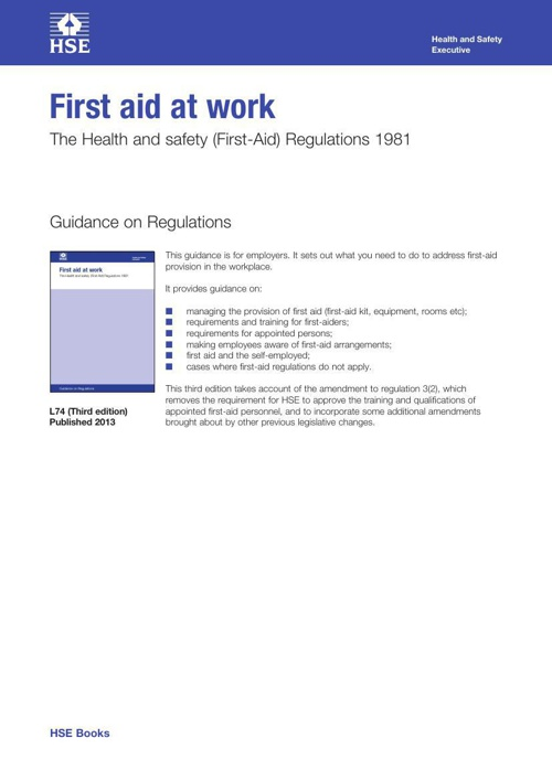 First Aid L74