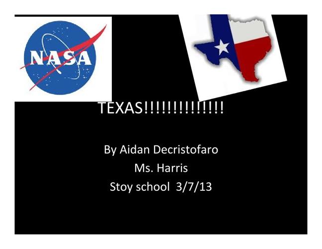 Texas by Aidan D