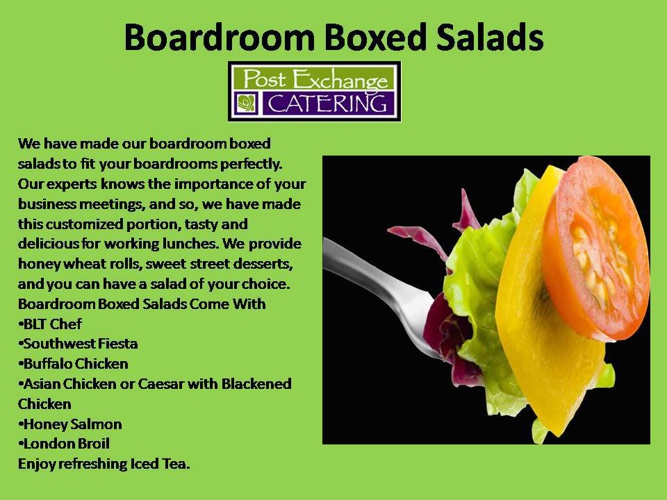 Atlanta Catering Guide for Corporate Events