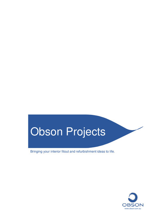 Obson Projects Company Profile