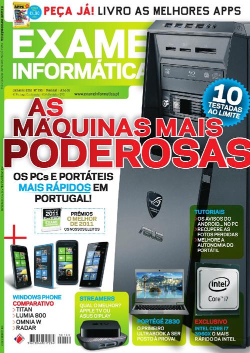 Exame Informática - nº 199 - Janeiro/2012