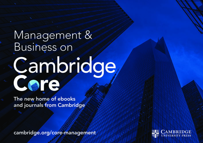 Cambridge Core Management and Business flyer 2017