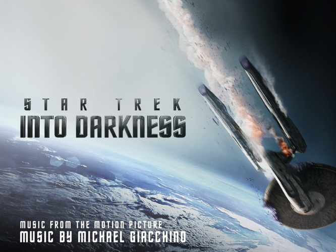 STAR TREK INTO DARKNESS OST BOOKLET