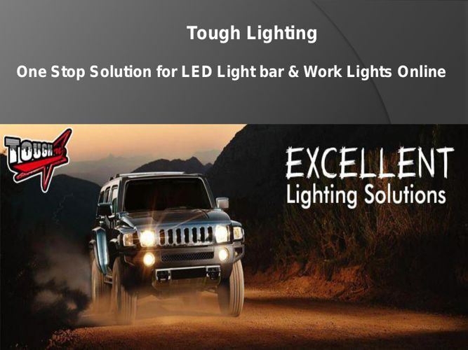 Off Road LED Light Bar for Trucks By Tough Lighting