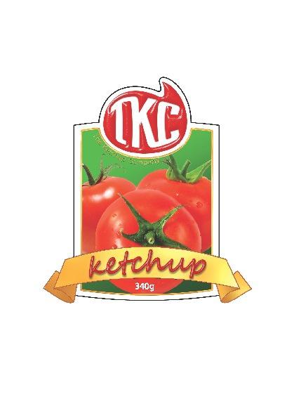 TKC Ketchup Label