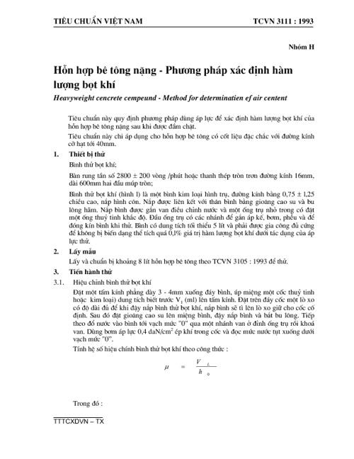 TCVN3111-1993-hon hop be tong nang-pp xac dinh ham luong bot khi