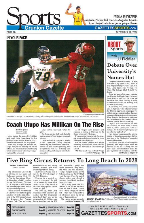 Gazette Sports 9-21-17