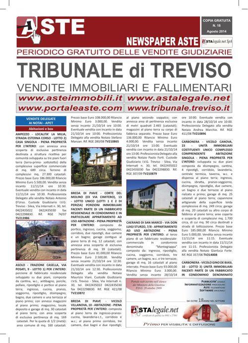 Treviso agosto 2014