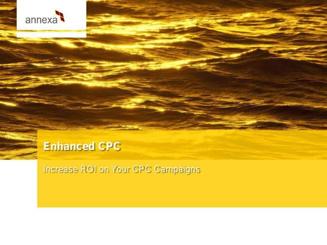 ENHANCED CPC