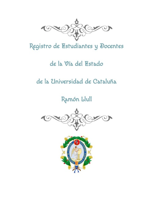 Libro de Matrícula