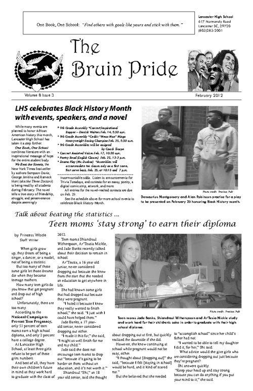 Bruin Pride v8 i3 Feb. 2012