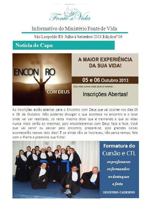 Informativo Julho/2013