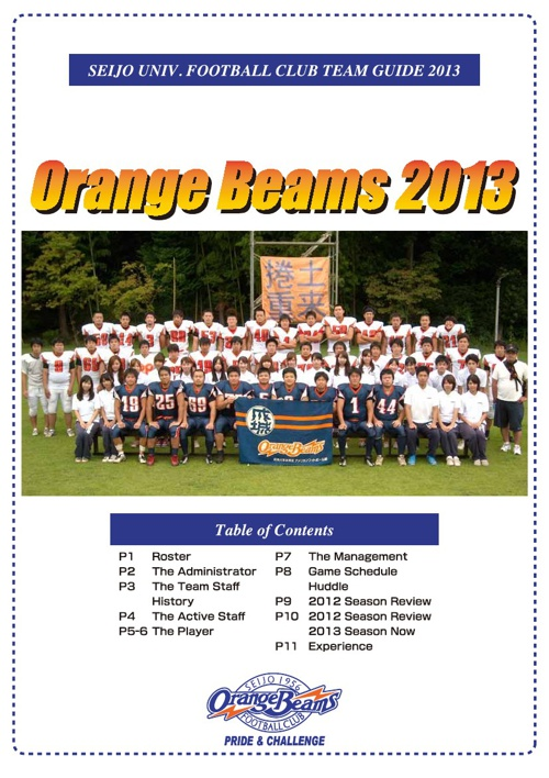 Orange Beams 2013