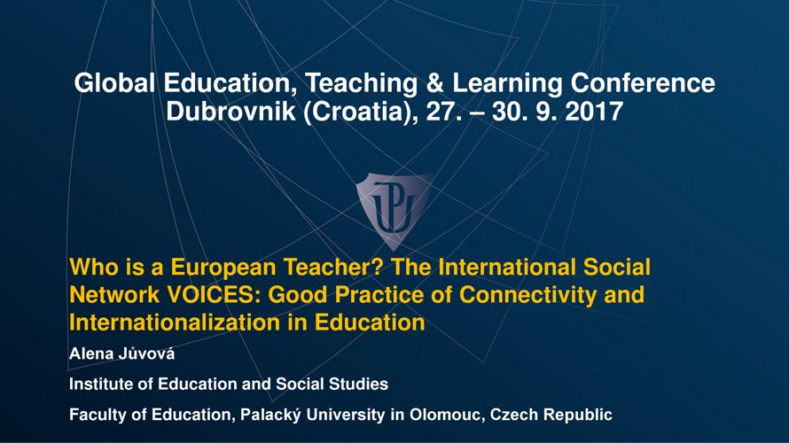 Who is the European Teacher? The [...]