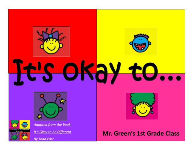 Its ok to...Green