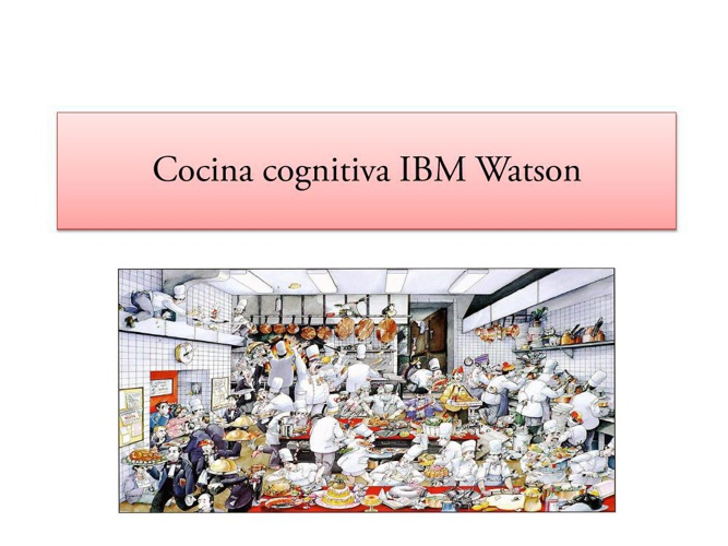 Cocina cognitiva IBM Watson