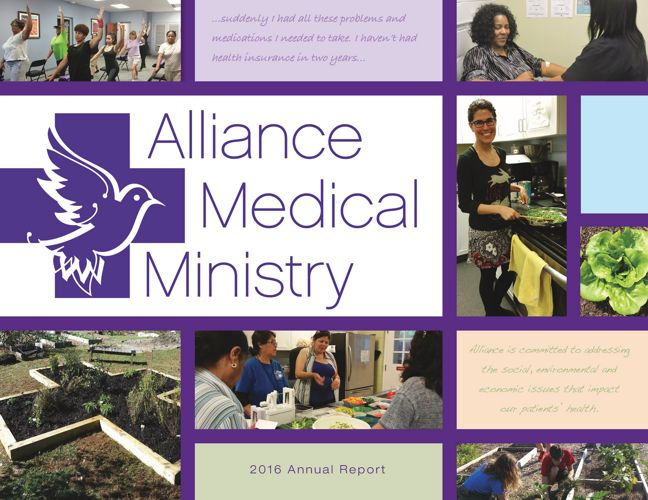 Alliance Medical Ministry 2016 Annual Report