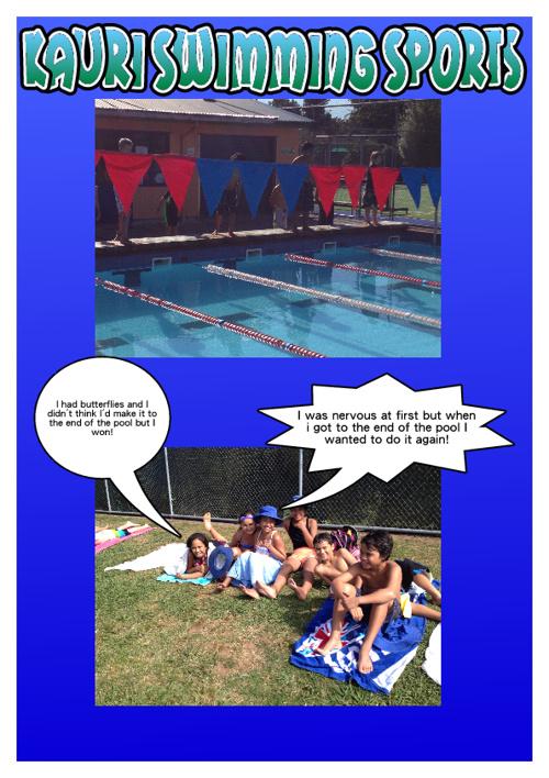 Kauri Swimming Sports
