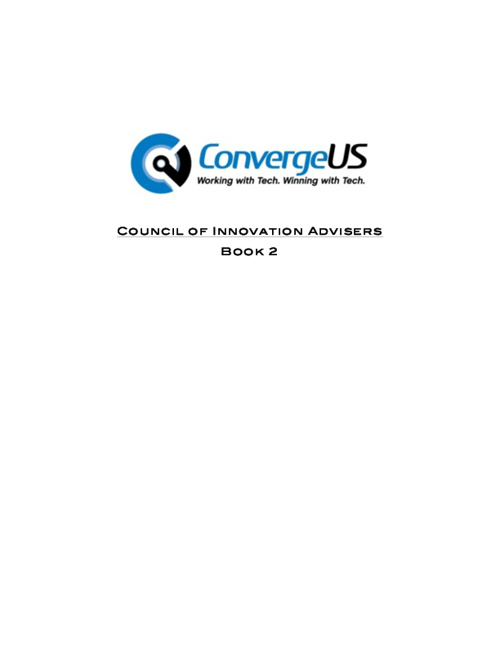 Innovation Advisers Book 2