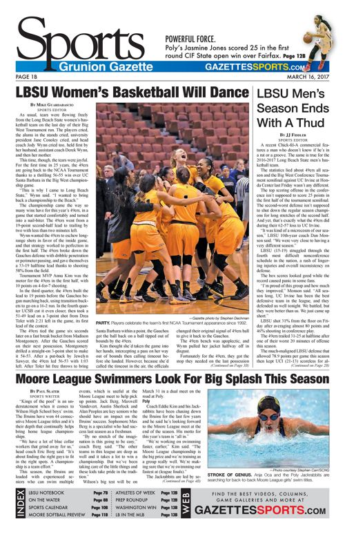 Gazette Sports  |  March 16, 2017