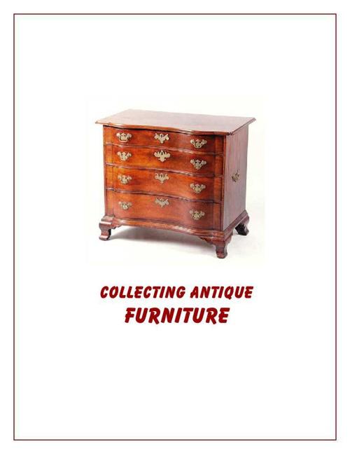 Collecting Antique Furniture