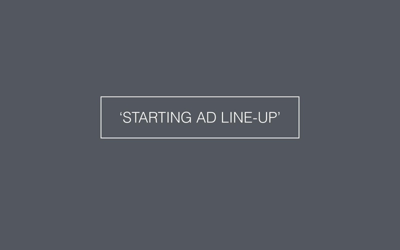 'STARTING AD LINE-UP'